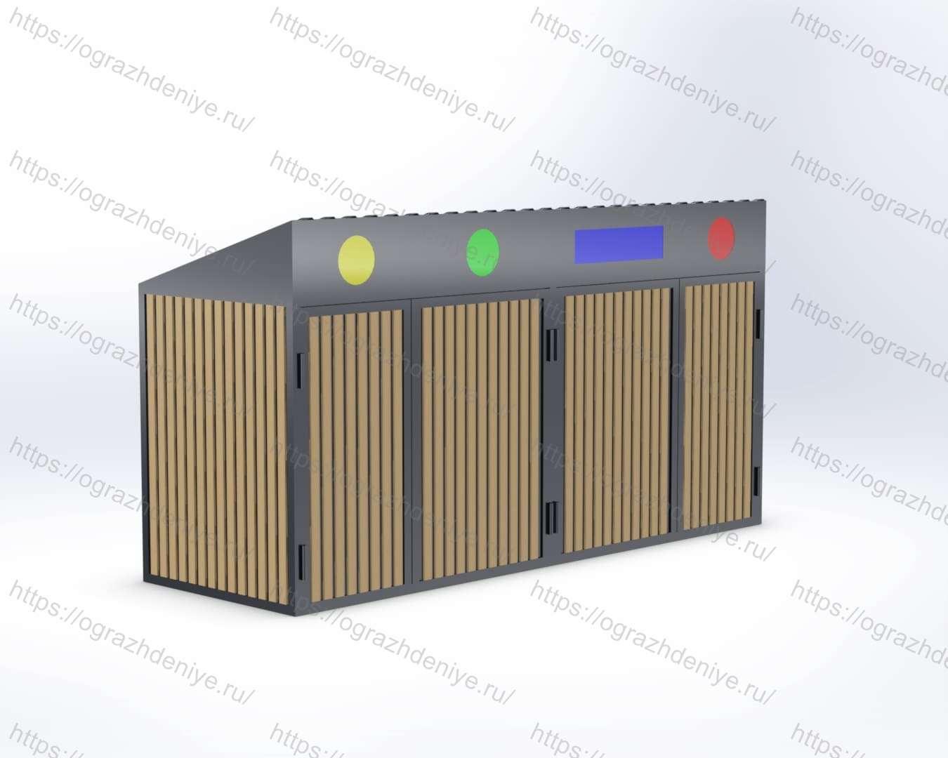 ЭКО-Бокс Стандарт на 4 ячейки