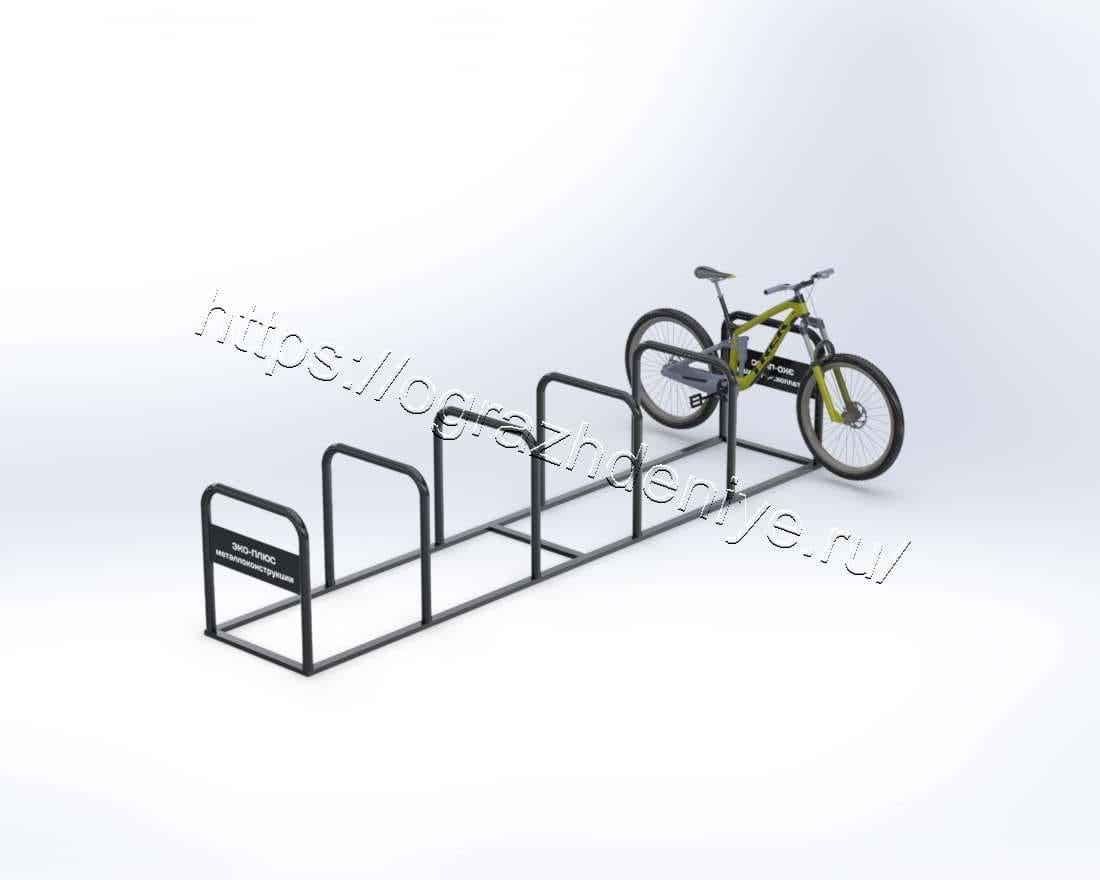 Городская велопарковка на 12 мест