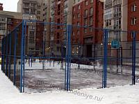 Ограждение баскетбольных площадок
